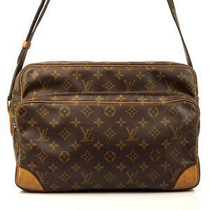 Auth Louis Vuitton Nile Gm Crossbody Bag #3017L20